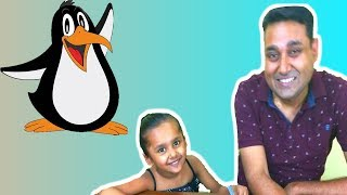 Penguin game # challenge | fun game for kids and adults | Party game
