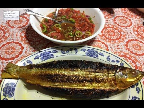 Delicious Grilled Stuffed Milkfish (Ikan Terubuk - Bangús Baulu Bakar) | Exotic Recipe & How To Cook