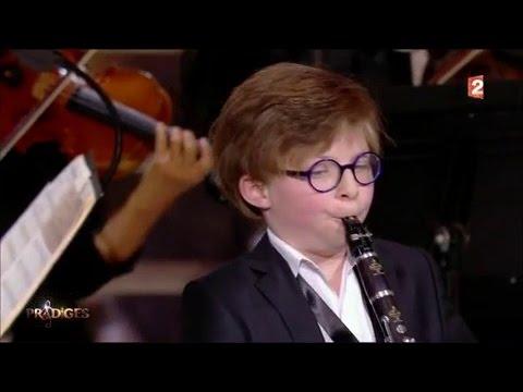 Marin joue un extrait du film The Mission : « Gabriel's Oboe » - Prodiges 3