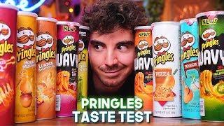 Pringles dall'AMERICA! - Taste Test