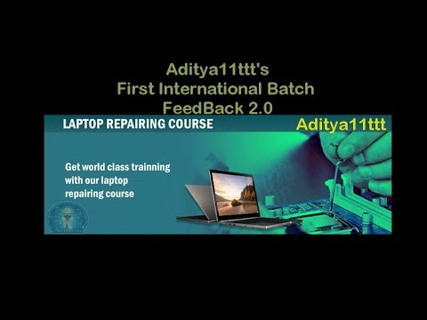 #LaptopRepair Chip level Repair Course   Laptop Repair Course   Laptop  Repair Training #Aditya11ttt