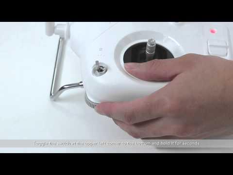DJI Phantom 3 | How to Use the Phantom 3 Standard Remote Controller