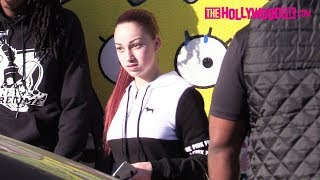 Danielle Bregoli Fans Get Hype & Ask About The New Bhad Bhabie Album While Shopping On Melrose