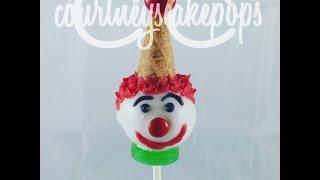 Clown Cakepops Courtney S Cakepops