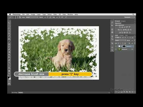 Photoshop CS6 Tutorial: How To Create Custom Borders | Lynda.com