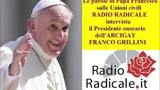 Le parole di Papa Francesco sulle Unioni civili: intervista a Franco Grillini