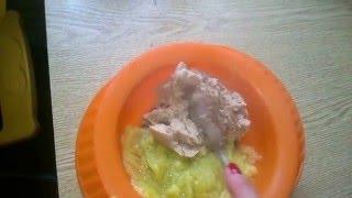 Обед для ребенка. Мясное суфле. РЕЦЕПТ