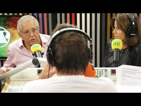 Carlos Alberto de Nóbrega comenta a saída de Moacyr Franco | Pânico