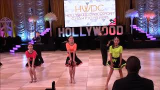 "11.18. ""Runaway baby"" show (LA Star Dance) @ Hollywood Dancesport Championship"