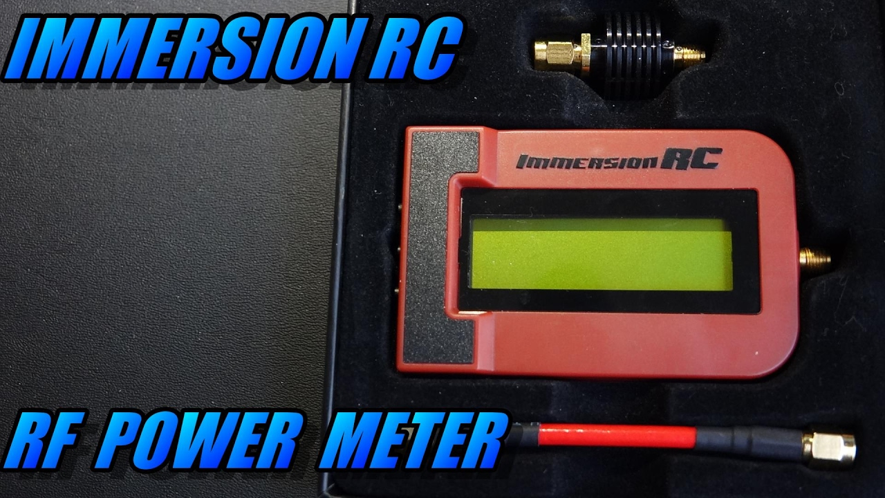 Immersion RC RF Power Meter