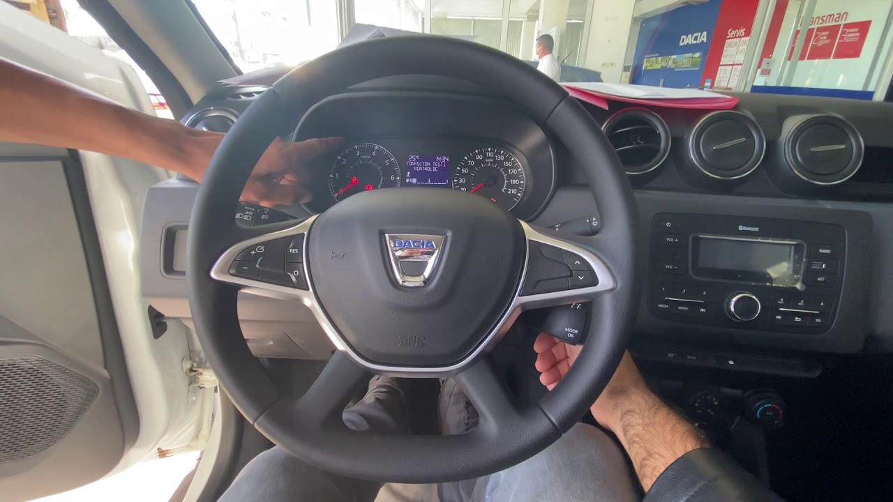 Dacia duster comfort Eco-G 115bg 1.6 LPG 4x2 model 2020  detaylı anlatım ve teslim alma