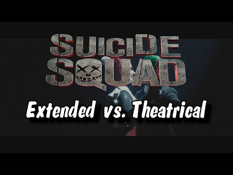 Suicide Squad: All Differences Between Extended and Theatrical Cut (Comparison Video)
