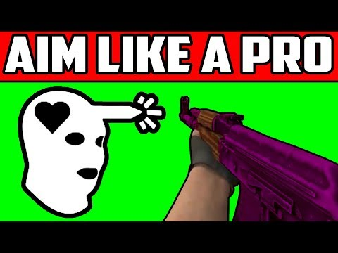 CSGO How To Get Better Aim Like A Pro (AK47/All Weapons) Tutorial