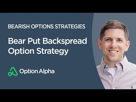 Bear Put Backspread Option Strategy – Bearish Options Strategies – Advanced Options Trading Concepts