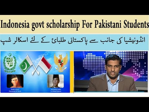 Indonesia govt scholarship For Pakistani Students