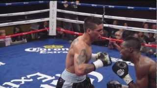 "Lucas ""The Machine"" Matthysse vs Olusegun ""The Gun"" Ajose  Highlights"