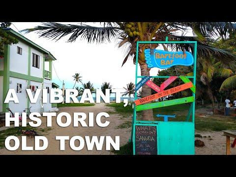 Placencia Belize Boardwalk