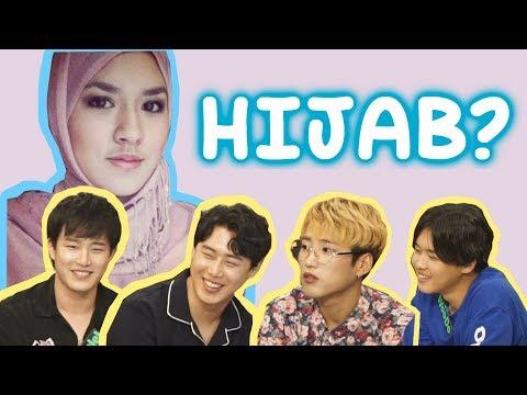 Cover Lagu REAKSI IDOL KOREA TENTANG CEWEK INDONESIA BERHIJAB !! HITSLAGU