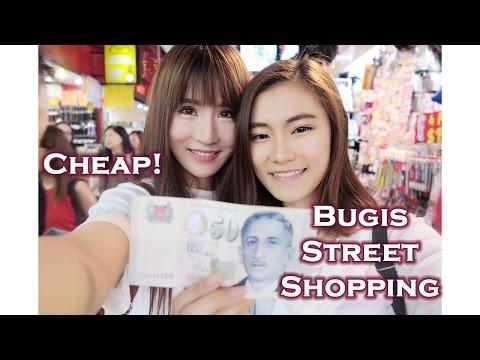 Singapore Bugis Street Shopping Under $50 (2016)