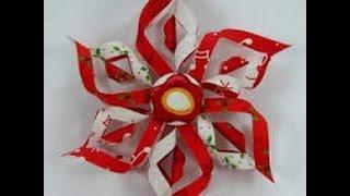 Как сделать снежинку из бумаги? Настя 8 лет.