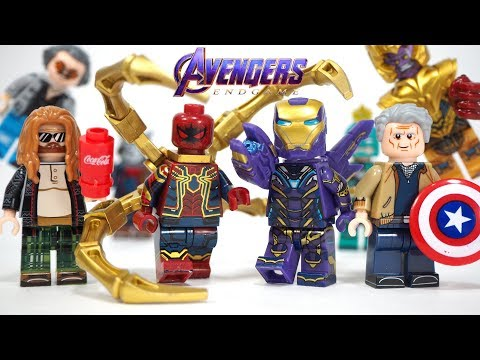 Lego Avengers Endgame Final Battle Thanos Pepper Potts Fat Thor Unofficial Minifigures