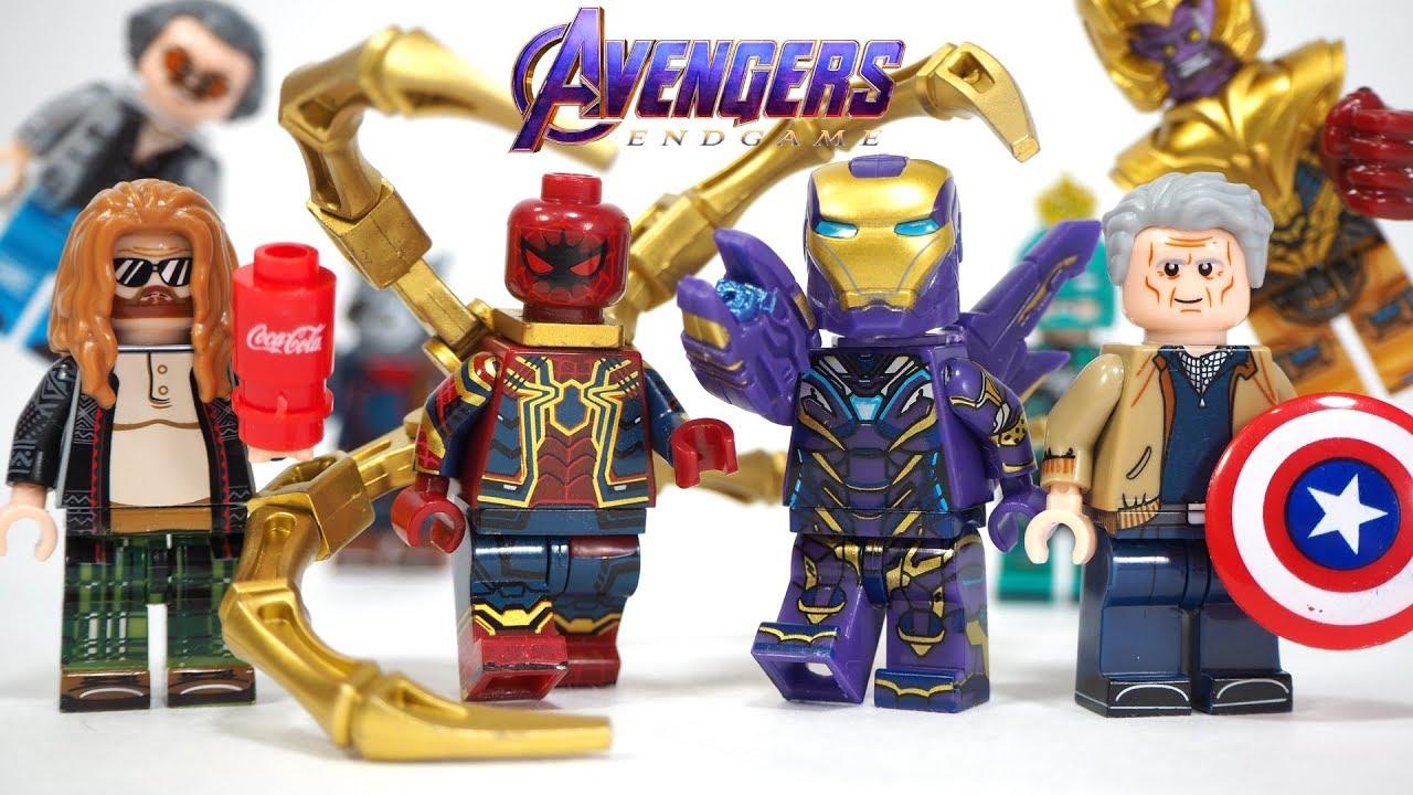 RARE Lego Minifigure BIG FIGURE IRON MAN BIG AVENGERS ENDGAME MARVEL