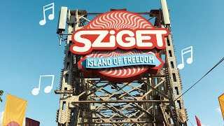 Budapest & Sziget festival 2018