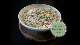 Classic Pea and Bacon Salad Recipe