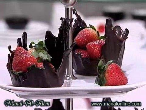 فن الشوكولاتة 8-4-2011 - منال العالم