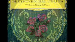 Beethoven / Wilhelm Kempff, 1964: Rondo G-Dur, Op. 51, No. 2 - Andante Cantabile e Grazioso