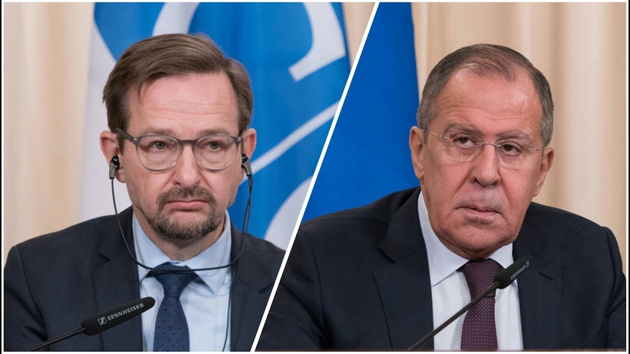 Пресс-конференция С.Лаврова и Т.Гремингера, Москва, 3 ноября 2017 года