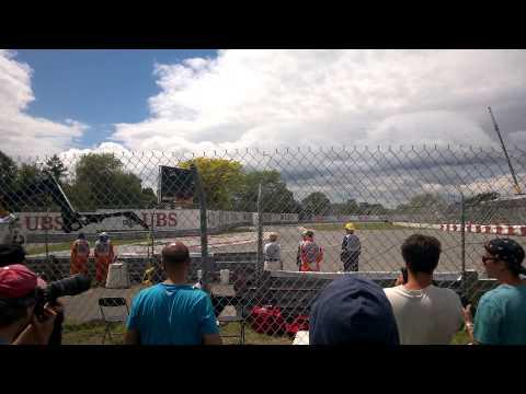 MTL GP 2014 Friday practice pont de la concorde