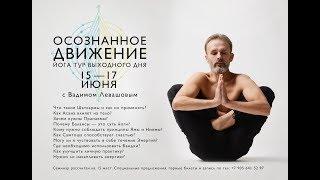 """йога семинар """"Осознанное движение"""" с Вадимом Левашовым"""