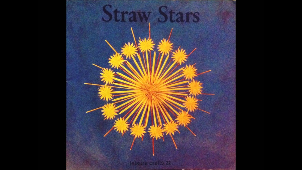 Straw Stars - Playground of the World - YouTube for straw star lantern  177nar
