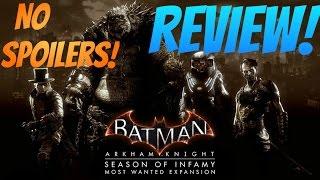 Season of Infamy DLC Review (Batman: Arkham Knight)