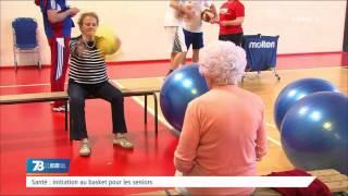 Santé : initiation au basket pour les séniors