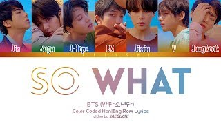 Download BTS (방탄소년단) - SO WHAT (Color Coded Lyrics Eng/Rom/Han) Mp3