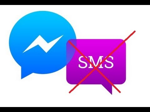 How To Disable Sms In Facebook Messenger Youtube