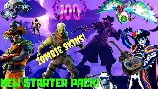 Fortnite-Zombies, icy Raptor, new Starter Pack! V 6.20!