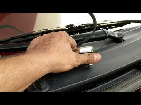 Changing Serpentine Belt On Toyota Yaris 2008