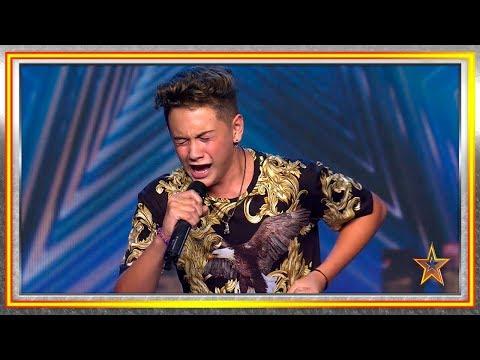Con 14 años CANTA una mítica canción en clave de FLAMENCO | Audiciones 8 | Got Talent España 2019