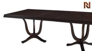 Pulaski Plaza Square Complete Rectangular Table 5102+40+41