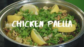 Easy Chicken Paella in Saladmaster