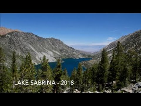 Hiking From Lake Sabrina To Fishing At Blue Lake