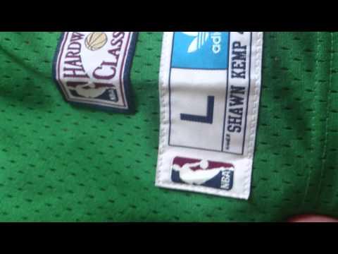 ReignmanShawn Kemp adidas hardwood classics jersey