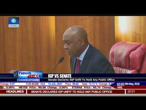 Senate Declares IGP Unfit For Office After Defying Summons