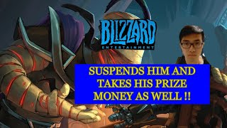 Blizzard Bans Hearthstone eSport Pro Player Blitzchung For Supporting the Hong Kong Demonstrations