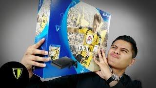 PLAYSTATION 4 + FIFA 17 Unboxing - Fanbolero en Cajas