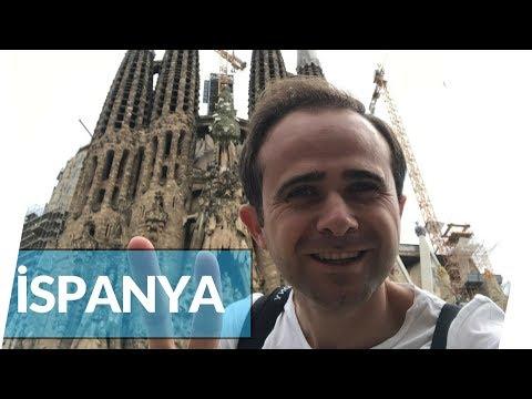 Gaudi'nin Şehri'ne Hayran Kaldım | Barcelona | İSPANYA
