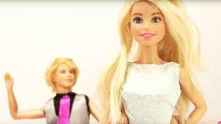 Барби и Кен идут в сауну. Видео для девочек